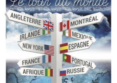 Le tour du monde – 2018