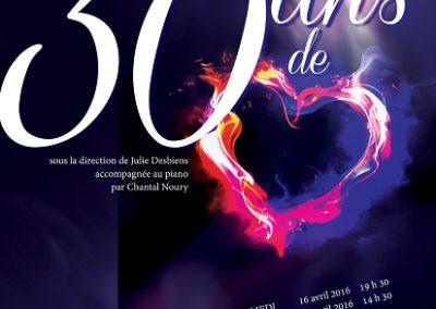 30 ans de Coeur – 2016